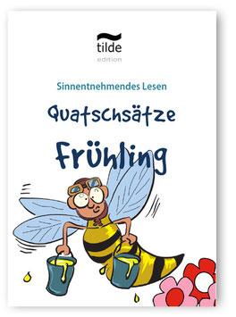 Leseverständnis trainieren mit Quatschsätzen: Frühling