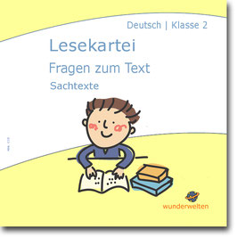 Kurze Sachtexte: Leseverständnis trainieren mit Fragen zum Text