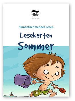 Sommer: Lesekarten für die Bild-Satz-Zuordnung