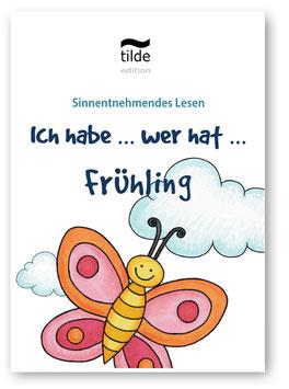 Frühling  - Lesekette - Ich habe ... Wer hat ... Spiel