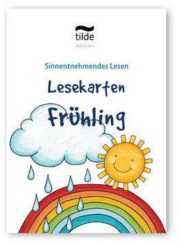 Leseverständnis trainieren mit Bild-Satz-Lesekarten: Frühling