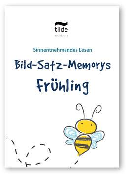 Leseverständnis trainieren mit Bild-Satz-Memorys: Frühling