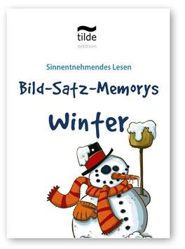 Winter: Leseverständnis trainieren mit Lese-Memorys