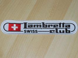 Aufnäher Swiss Lambretta Club
