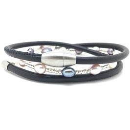Wickelarmband aus Nappaleder