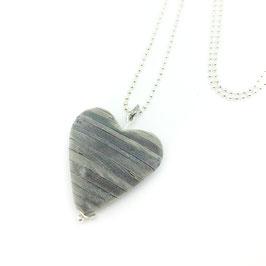 Elegant schlichte 925er Silber-Kugelkette