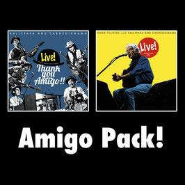 Amigo Pack! − ラリーパパ&カーネギーママ / ロジャー・ティリソン