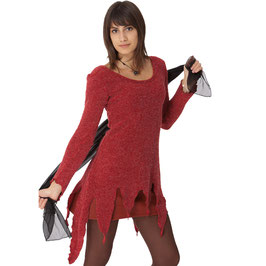 Pull en Pointes - Rouge ou Anthracite