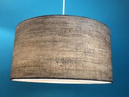 Lampenschirm flat Paper Struktur grau /braun