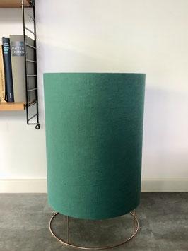 Bodenleuchte Drum small jade/puder