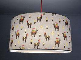 Leuchtenschirm Lustige Lamas