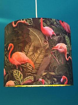 Leuchtenschirm Flamingo