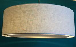 Lampenschirm flat Leinen off white