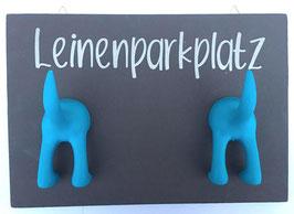 Leinenparkplatz grau blau