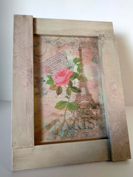 Portafoto XL rosas