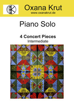 Piano Solo 4 Concert Pieces