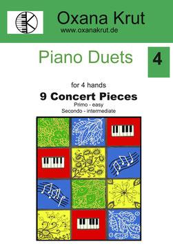 9 Concert Pieces for 4 hands