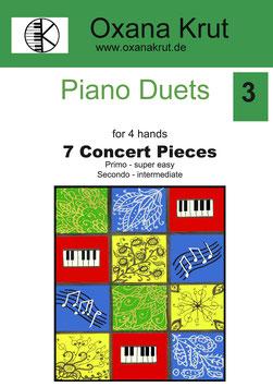 7 Concert Pieces for 4 hands