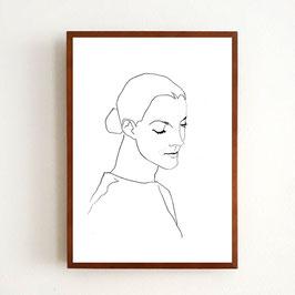 Art Print ROMY von Sonja Rohleder