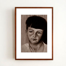 Art Print KIND von Sonja Rohleder