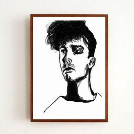 Art Print TOM von Sonja Rohleder