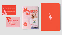 Empowered You - Buch, Journal und Postkarten als Set