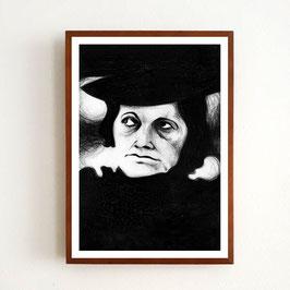 Art Print EVANS von Sonja Rohleder