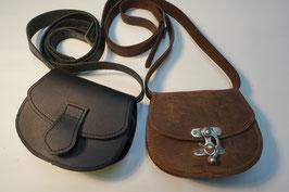 Kleine Handtasche, runde Form