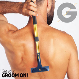 GROOMARANG Rücken- und Körper Haarentfernungsgerät