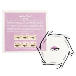 Eyeliner Schablone für den perfekten Lidstrich