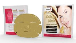 Anti Falten Collagen Gesichtsmaske mit kolloidalem Gold