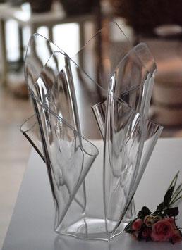 Acrylglas Vase groß in klar