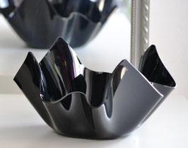 Acrylglas Schale klein in Porzellan schwarz