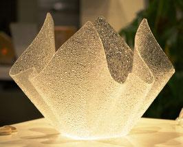 Acrylglas Schale groß rund in Ice Crush