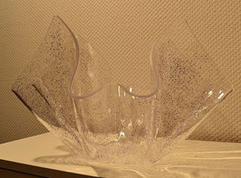 Limitierte Acrylglas Schale / Art.-Nr. XO-100 Glitter lila