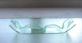 Acrylglas Schale mittel lang in Verde