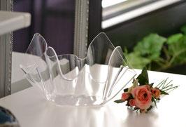 Acrylglas Schale klein - klar
