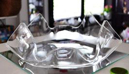Acrylglas Schale Deluxe mittel flach