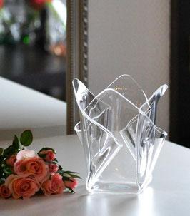Acrylglas Vase klein in klar