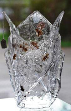 Limitierte Acrylglas Vase / Sammlerstück