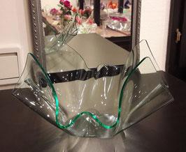 Acrylglas Schale mittel rund in Verde