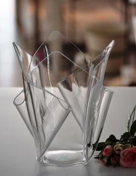 Acrylglas Vase mittel in klar