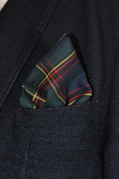 Tuch - schottischer Style (blau-rot-gelb)