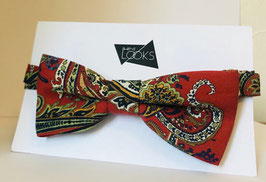Rot mit Paisley Muster