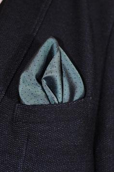 Tuch -blau/grau (tragbar auf beiden Seiten)