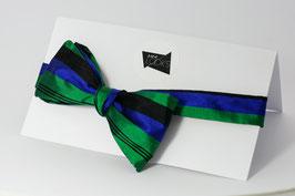Selbstbinder - blau/grün