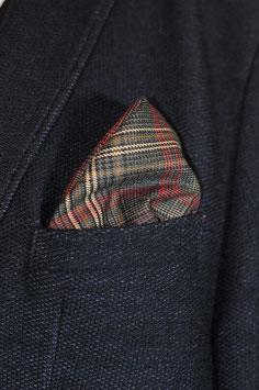 Tuch - schottischer Style (rot-braun-pastell)