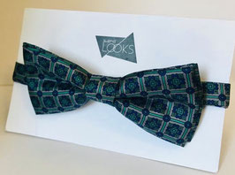 Blau mit Muster