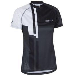 【New!!】TRIMTEX Speed Women'sシャツ ブラック・ホワイト Sサイズ