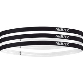 New!! TRIMTEX Flow hairband(3pack) ブラック